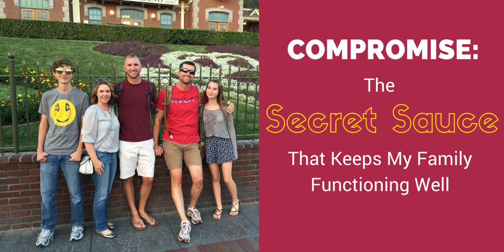 Compromise: The Secret Sauce That Keeps My Modern Family Functioning Well